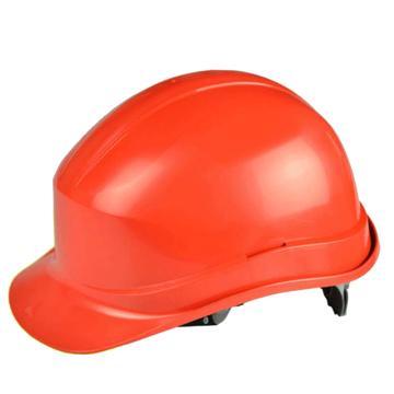 代尔塔DELTAPLUS 绝缘安全帽,102011-RO,PP材质 红(不含下额带,推荐下颚带型号:102021)