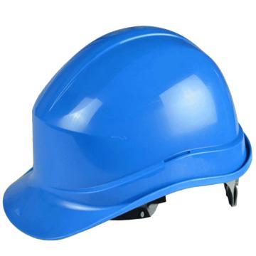 代尔塔DELTAPLUS 绝缘安全帽,102011-BL,PP材质 蓝(不含下额带,推荐下颚带型号:102021)