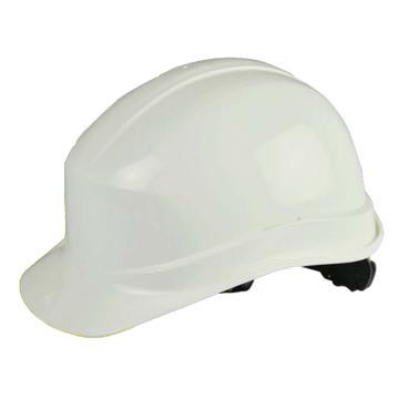 代尔塔102011 PP绝缘安全帽,白(不含下额带,推荐下颚带型号:102021)