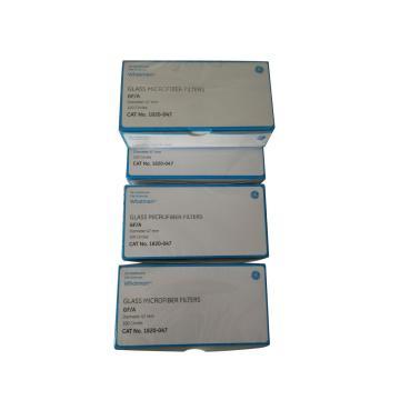 Whatman玻璃微纤维滤纸(无粘合剂),GF/A,4.7CM,100/PK
