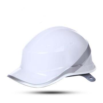 代尔塔102018 DIAMOND V ABS绝缘安全帽,白色