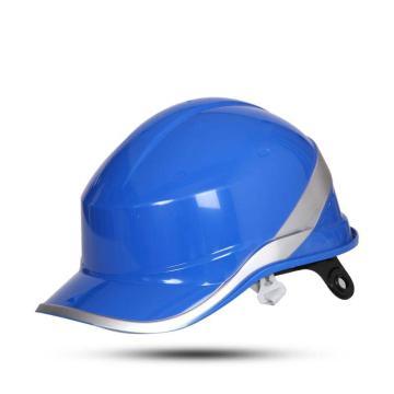 代尔塔DELTAPLUS 绝缘安全帽,102018-BL,DIAMOND V ABS材质 蓝色