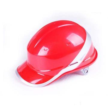 代尔塔DELTAPLUS 绝缘安全帽,102018-RO,DIAMOND V ABS材质 红色