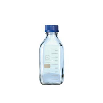 SCHOTT蓝盖方形试剂瓶,100ml
