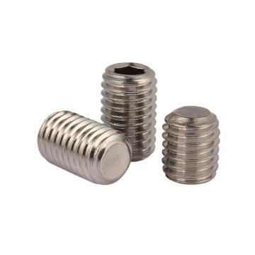 内六角平端紧定螺钉,不锈钢A2,DIN913,M6-1.0×4,1000个/包