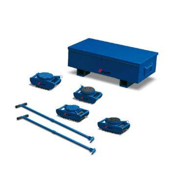 欧式滑动轮套件配橡胶护垫表面,额定载荷:40t