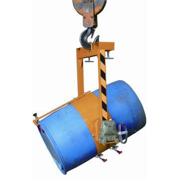 油桶吊,载重400kg,叉口内间距420mm,单货叉叉口尺寸150×55mm