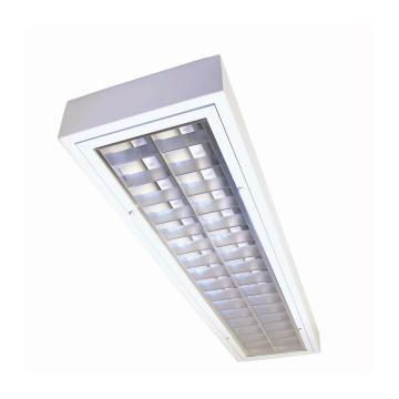 飞利浦 2*36W T8洁净室格栅灯,不含光源,TBH318 2xTL-D36W HFP M5 CR