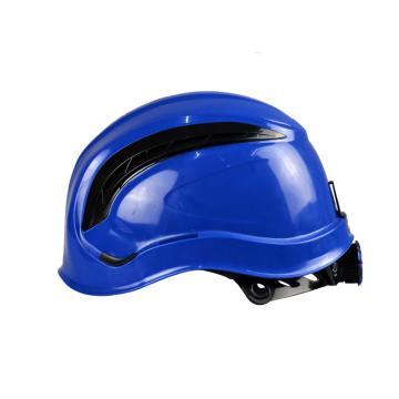 代尔塔102202通风型运动头盔,蓝