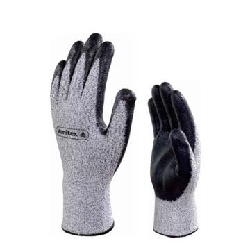 代尔塔 202010-8 4级丁腈涂层防割手套