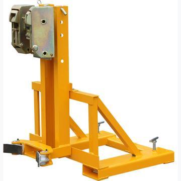 虎力 双叼扣式叉车专用油桶搬运夹,承重360kg,适合油桶规格55加仑