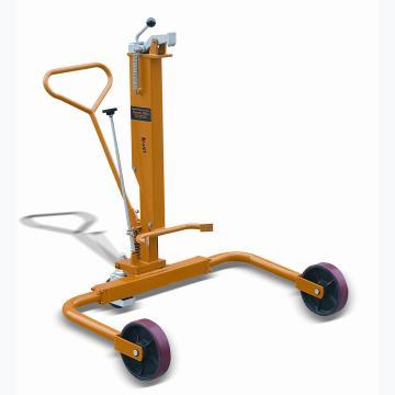 标准型液压油桶搬运车,额定载重量(kg):250,支腿加宽型