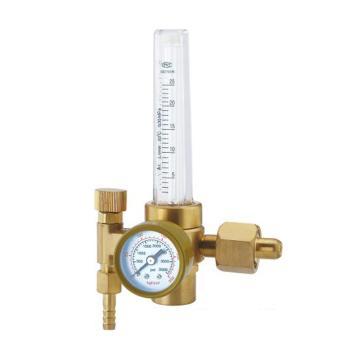 """捷锐氩气流量减压器,191A-25L,适用气体:氩气,输出流量计:0-25LPM,进气螺纹:G5/8""""-RH(F)"""