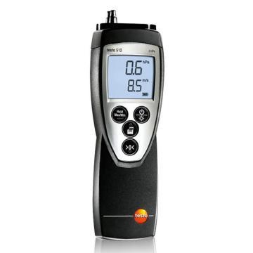 德图/Testo testo 512差压测量仪, 0~2hPa,订货号:0560 5126