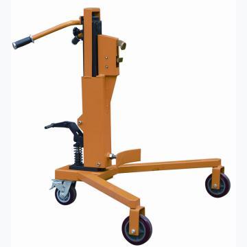 虎力 经济型液压油桶搬运车,直角支腿三轮型,载重350KG