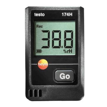 德图/Testo 迷你型温湿度记录仪 双通道 内置传感器,testo 174H,订货号:0572 6560