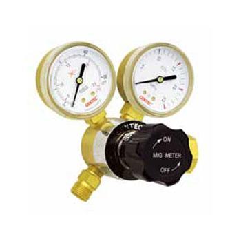 """捷锐氩气流量表式减压器,190A-25L,适用气体:氩气,25LPM流量表,进气螺纹:G5/8""""-RH(F)"""