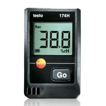 德图/Testo testo 174H迷你型温湿度记录仪套装,订货号:0572 0566