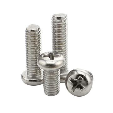 东明/TONG GB818 十字槽盘头机螺钉,不锈钢A2/304,M2*25
