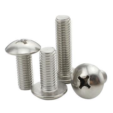东明 JISB1111十字大扁头机螺钉,M3-0.5X8,不锈钢304,500个/包