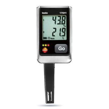 德图/Testo 温湿度记录仪,2通道, 带外置传感器,testo 175-H1,订货号:0572 1754