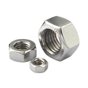 奥峰 GB6175高压螺母,M12-1.75,不锈钢304,100个/包