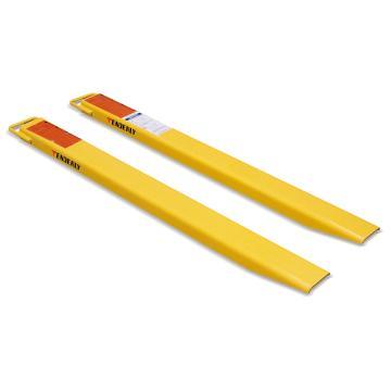 叉车加长货叉,   扩展长度1219mm   适于叉宽≤150mm并且长度≥813mm的锻打货叉
