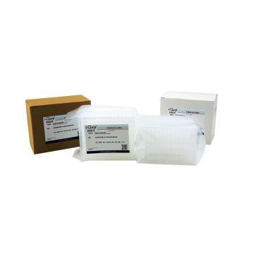 96孔PCR板,透明,半裙边,PP,200ul,10板/袋