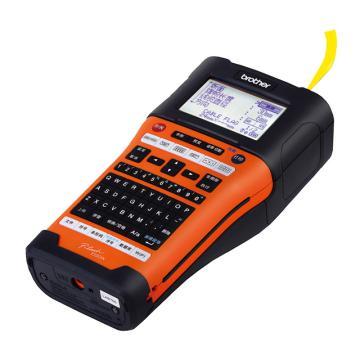 兄弟便携式专业型标签打印机,PT-E550W 打印宽度3.5-24mm