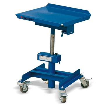 柱式可调液压工作平台车,载重(kg):150kg,起升范围(mm):720-1070