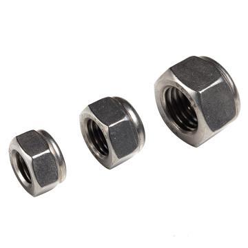 东明尼龙锁紧螺母,DIN985,M4,不锈钢A2,500个/包