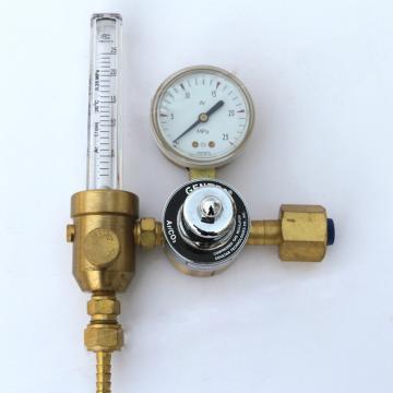 捷锐流量减压器,195A-25L,适用于氩气,输出流量计0-25LPM 最大进气压力15MPa