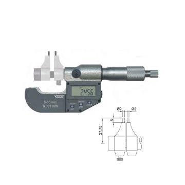 "VOGEL 数显内径千分尺,5-30mm/0.2-1.2"",23 1620"