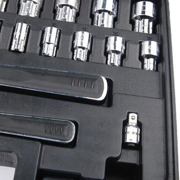世达快扳组套,穿透式30件套13MM&20MM,09132