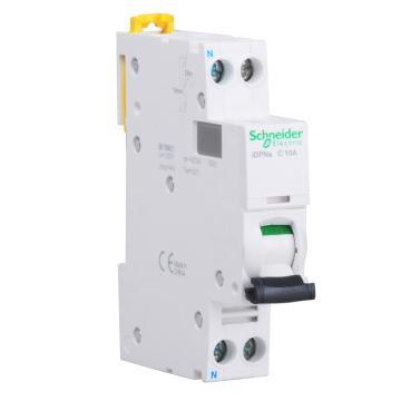 施耐德Schneider 微型断路器 iDPNA(A9) 1P+N 20A C型 A9P08620 (12的倍数订货)