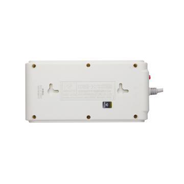 公牛接线板,超功率保护系列 GN-216 3米 6位 总控开关