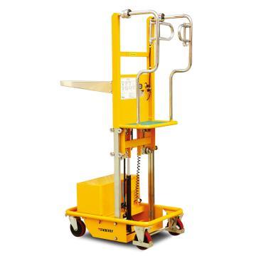 电动取货车,200Kg  站人平台高度270-970mm 载货平台高度670-1500mm 载货平台尺寸600X550mm