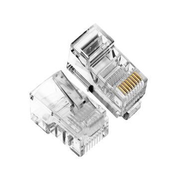 爱谱华顿 4芯电话水晶头,AP-S-03D