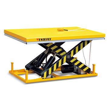 标准型电动升降平台车,载重(T):4T,台面尺寸(mm):2000×1200,起升范围(mm):1050/240