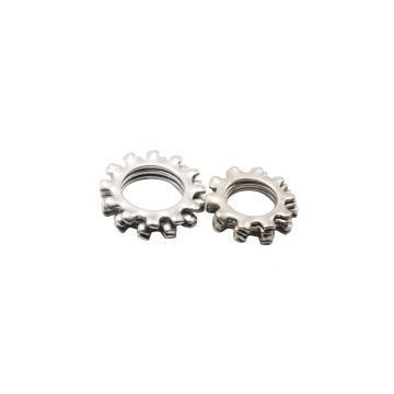 外齿锁紧垫圈,GB862.1,ø4,不锈钢A2/SUS304,200个/包