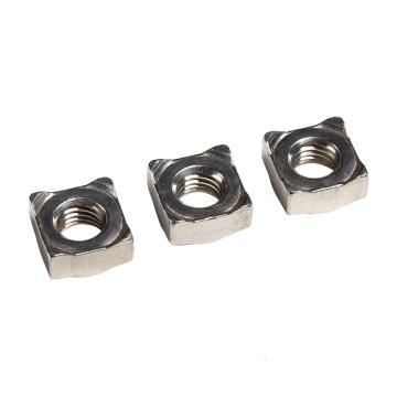 四方焊接螺母,DIN928,M4,不锈钢A2,2000个/包