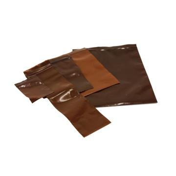 琥珀色自封袋,PE,203×152mm,100只/包