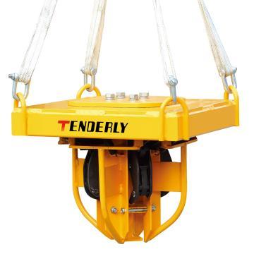 西域推荐 2000Kg油桶吊夹(每次1-4桶) 外形尺寸635*635*545mm 不含吊运时所需的配套组合吊具,LG4S