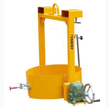 油桶吊夹,额定载重(kg):400,适合油桶规格(mm):直径570-600的钢桶或者带厚边塑料桶