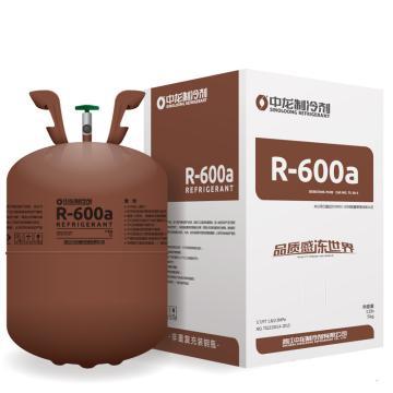制冷剂,中龙,R600a,5kg/瓶
