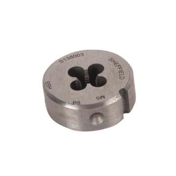 钢盾 高速钢全磨板牙,M8(M8*1.25)S135005