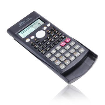 得力函数型计算器,蓝色  1710