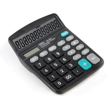 得力桌面型计算器,黑色  837ES