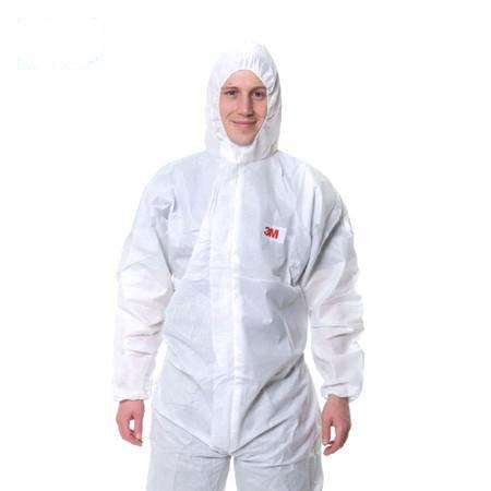 3M 4515白色带帽连体防护,M