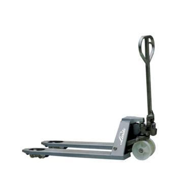 林德 不锈钢型手动液压搬运车,额定载重(kg):2000,货叉尺寸(mm):530*1150